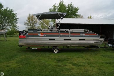 Sun Tracker 24 Party Barge, 24', for sale - $12,500