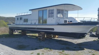 Custom Built 50 Foot Houseboat, 50', for sale - $15,000