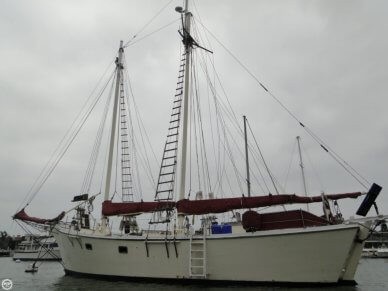 Kennedy 47 Gaff Rigged Schooner, 60', for sale - $60,000