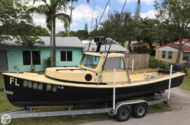 Groverbuilt 26 Downeast Pilothouse, 26', for sale - $34,500