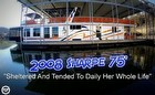 2008 Custom Sharpe 75 Houseboat Specifically Designed For Living Aboard Full Time
