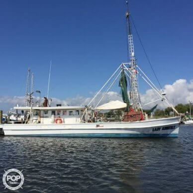 Biloxi Lugger Shrimp boat, 54', for sale - $34,900